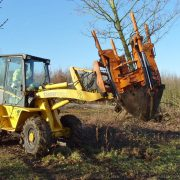 Woodland translocation: Optimal Tree Spade moving individual trees