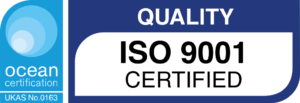 UKAS accredited ISO9001