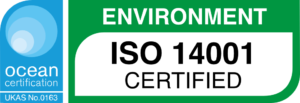 UKAS accredited ISO14001