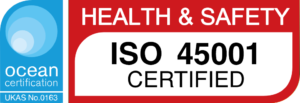 UKAS accredited ISO45001